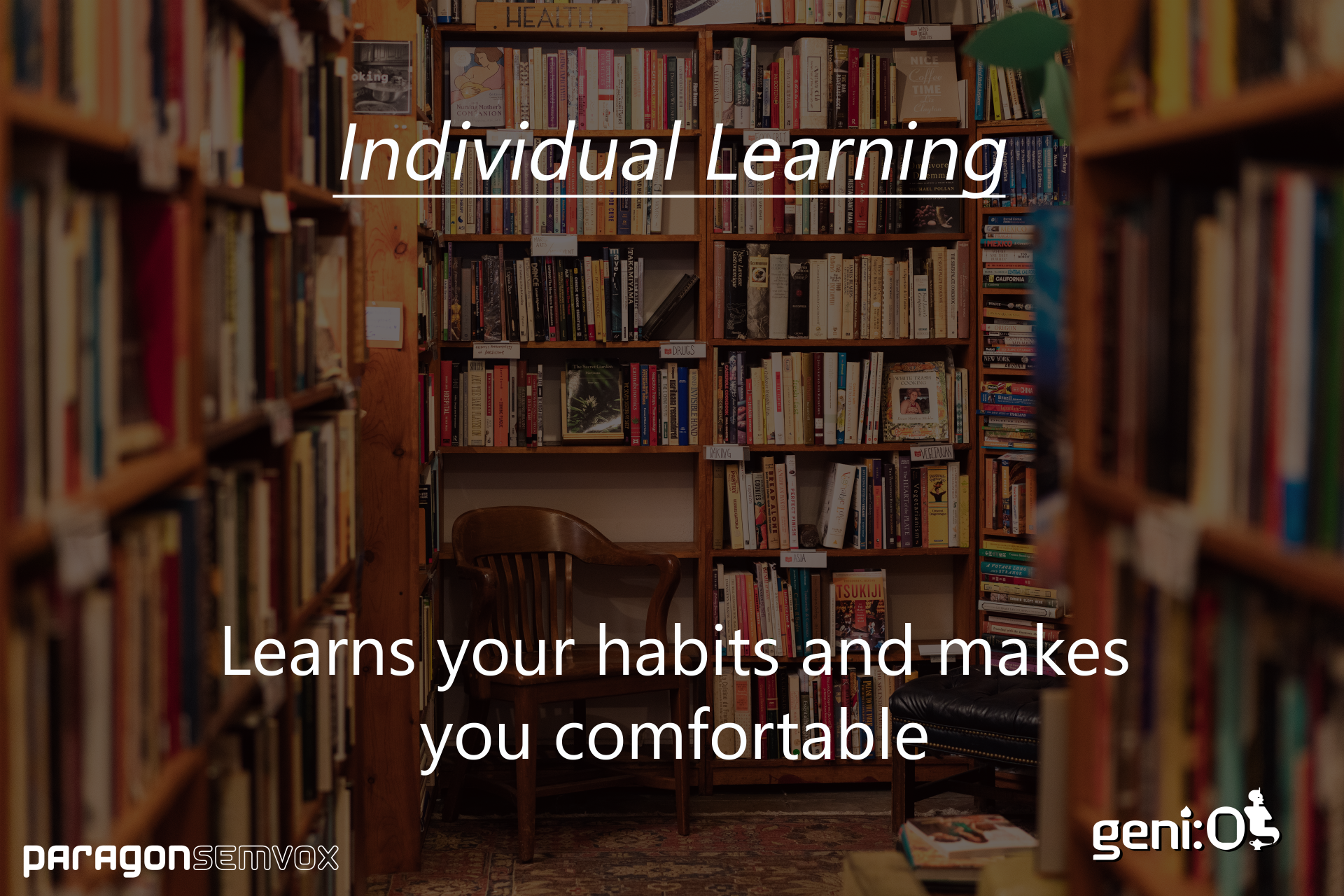 geni:OS - Learns your habits and makes you comfortable
